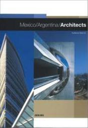 Mexico argentina architecture - Couverture - Format classique