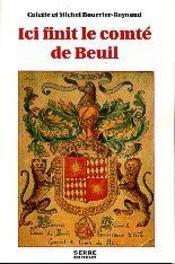 Ici finit le comté de Breuil - Couverture - Format classique