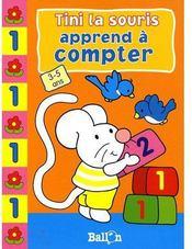 Tini la souris ; apprend à compter - Couverture - Format classique