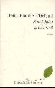 Saint-jules, gros orteil - Couverture - Format classique