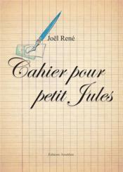 Cahier pour petit Jules - Couverture - Format classique
