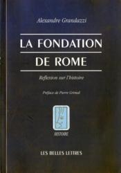 Fondation de rome (la) - Couverture - Format classique