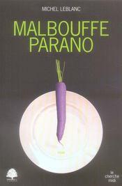 Malbouffe parano - Intérieur - Format classique