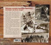 Montagne maudite, montagne apprivoisée - 4ème de couverture - Format classique