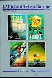 L'affiche d'art en europe - Couverture - Format classique