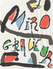 Miro, graveur t.3 ; 1973-1975 - Couverture - Format classique