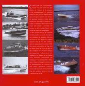 Chris-Craft - 4ème de couverture - Format classique