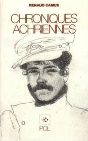 Chroniques achriennes - Couverture - Format classique