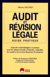 Audit Et Revision Legale - Couverture - Format classique