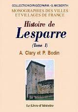 Lesparre (Histoire De) Vol.I - Couverture - Format classique
