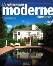 Architecture moderne classique - Intérieur - Format classique