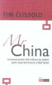 Mr China - Comment Perdre 450 Millions Apres Avoir Fait Fortune A Wall Street - Intérieur - Format classique