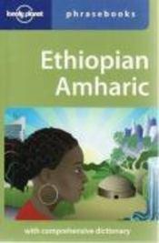 Ethiopian amharic (3e édition) - Couverture - Format classique