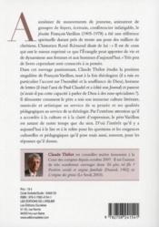 François Varillon éveilleur spirituel - 4ème de couverture - Format classique