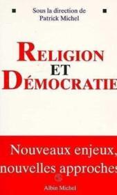 Religion et democratie - Couverture - Format classique
