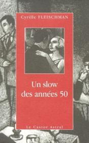 Un slow des annees 50 - Couverture - Format classique