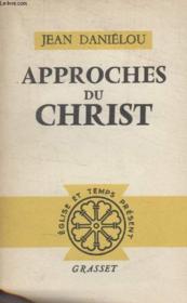 Approches Du Crhist. - Couverture - Format classique