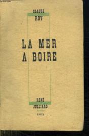 La Mer A Boire. - Couverture - Format classique