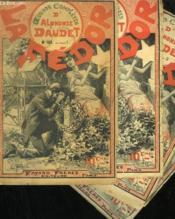 Lot De 4 Fascicules. La Fedor. Oeuvres Completes D'Alphonse Daudet. N° 163 Au N° 165. N°163 En Double. - Couverture - Format classique
