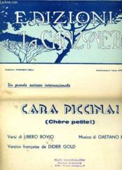 Adizioni De La Canzonetta - Couverture - Format classique