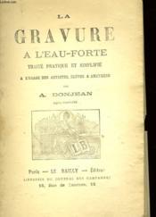 La Gravure L'Ean-Forte - Couverture - Format classique