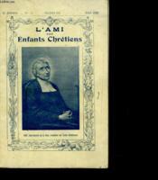 L'Ami Des Enfants Chretiens - N°74 - Couverture - Format classique