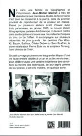 50 ans de lithographies originales - 4ème de couverture - Format classique