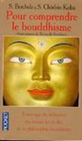 Pour comprendre le bouddhisme - Couverture - Format classique