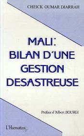 Mali Bilan D'Une Gestion Desastreuse - Intérieur - Format classique