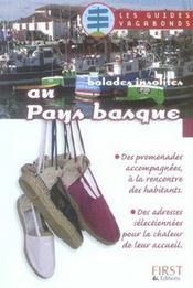 Balades Insolites Au Pays Basque - Intérieur - Format classique