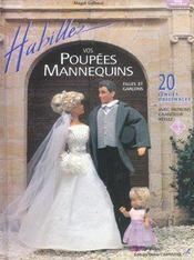 Habillez vos poupées mannequins t.3 - Intérieur - Format classique