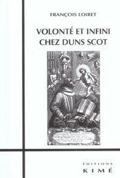Volonte et infini chez duns scot - Intérieur - Format classique