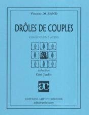 Droles de couples - Couverture - Format classique