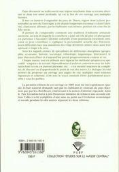 Pays De Thiers. Le Regard Et La Memoire - 4ème de couverture - Format classique