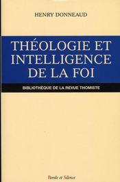 Théologie et intelligence de la foi - Intérieur - Format classique