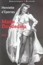 Mado dondedieu t1 - Intérieur - Format classique