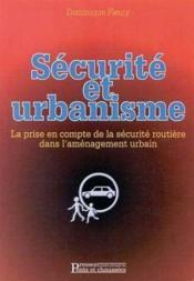 Securite Et Urbanisme - Couverture - Format classique