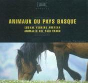 Animaux du pays basque - Couverture - Format classique