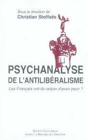 Psychanalyse de l'antilibéralisme - Intérieur - Format classique