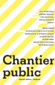 Chantier public - Couverture - Format classique
