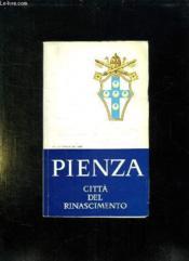 Pienza Citta Del Rinascimento. Texte En Italien. - Couverture - Format classique