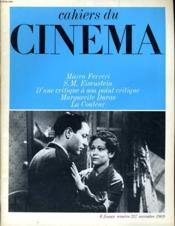 Cahiers Du Cinema N° 217 - Marco Ferreri - S. M. Eisenstein - D'Une Critique A Son Point Critique - Marguerite Duras - La Couleur - Couverture - Format classique