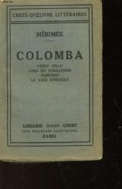 Colomba - Nouvelles - Couverture - Format classique