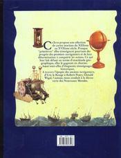 Anciennes cartes marines ; 1290-1699 - 4ème de couverture - Format classique