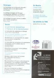 Le patriotisme économique à l'épreuve de la mondialisation (édition 2006) - 4ème de couverture - Format classique