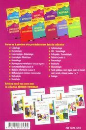 Orl Stomatologie Nouveau Programme - 4ème de couverture - Format classique