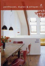 Penthouses, dupplex et attiques - Intérieur - Format classique