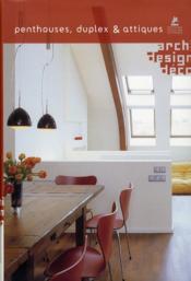 Penthouses, dupplex et attiques - Couverture - Format classique