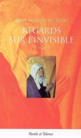 Regards sur l'invisible poemes - Couverture - Format classique