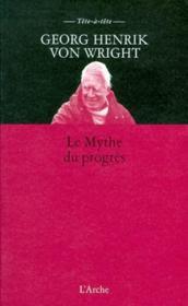 Le mythe du progrès - Couverture - Format classique